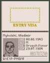 Arstotzka passport 1160