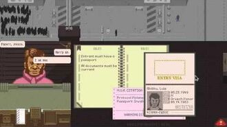 Let's Play Papers, Please (Day 2)