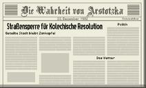 Tag 30 Zeitung