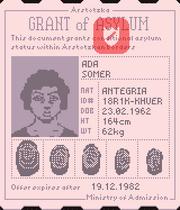 Grant of asylum 1160