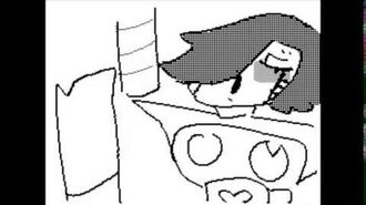I Use My Hair To Express Myself - Undertale Flipnote
