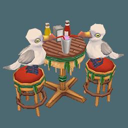 Deco Seagull Diner