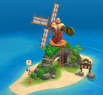 Windmill Island detail
