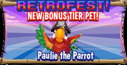 Paulie Parrot Promo