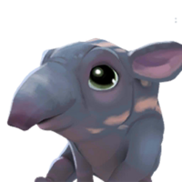 Tapir Blue portrait