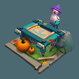 Deco BYOS Map Halloween table