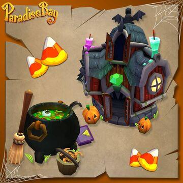 bazaar halloween decor