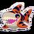 Sticker Tiger Shark