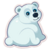 Sticker PolarBear