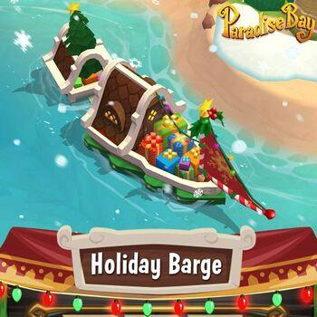 Holidaybarge