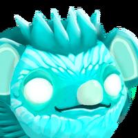 Portrait Ghost Hedgehog