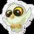 Sticker Snowy Owl