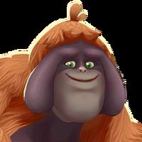 Portrait Orangutan