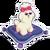 Sticker Prissy Pooch