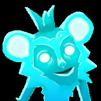 Monkey Ghost Portrait