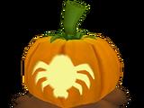 Spider Jack O'Lantern
