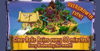 Eventboard Relic Ruins Frenzy en