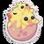Sticker Baby Chicks
