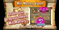 Eventboard Friday bonusMillMasteryMicro3 en