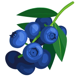 Blueberry Bush Clipart