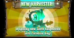 EventBoard SpookySloth en