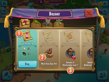 Bazaar Example
