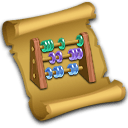Recipe Wooden Abacus