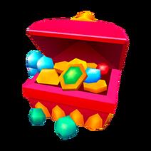 BYOS frills bazaar chest