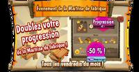 Eventboard Friday bonusMillMasteryMicro3 fr