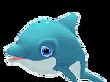 Delfín azul