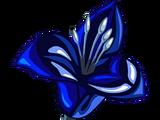 Flor zafiro