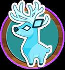 Seasonal rewards stag porthole banner