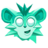 Monkey Ghost Head