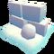 Holiday snowfort wall
