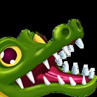 Portrait Crocodile