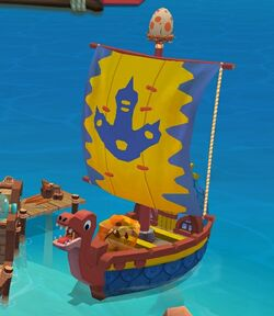 DinoBoat preview