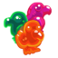 Gummy fruits