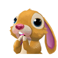 Portrait bunny