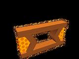 Clôture de l'abeille