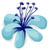 BeeHive event flower blue