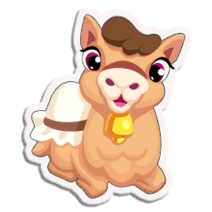Sticker Camel
