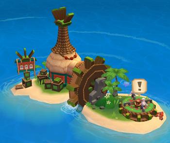 Crates Island detail