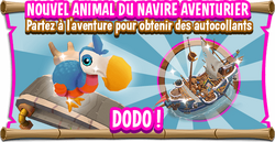 Pb promo dodo active eventboard fr