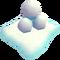 Holiday snowball stack