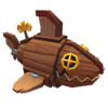 Deco Barrel Shark