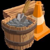 Gazebo event construction supplies