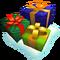 Deco holiday presents