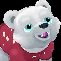 Portrait Santa Bear