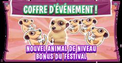 Pb promo meerkat bonus pet eventboard fr