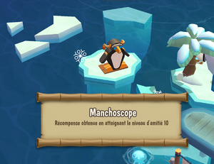Penguin Isle reward